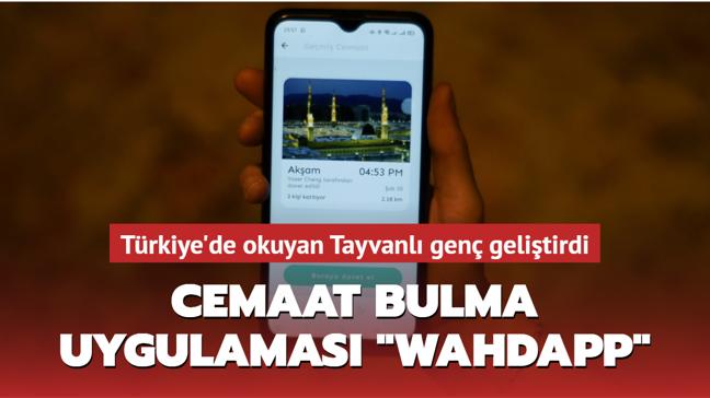 Türkiye'de okuyan Tayvanlı genç namaza cemaat bulmak için uygulama geliştirdi