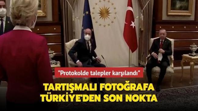 Tartışmalı fotoğrafa Türkiye'den son nokta: Protokol AB tarafının talebiydi