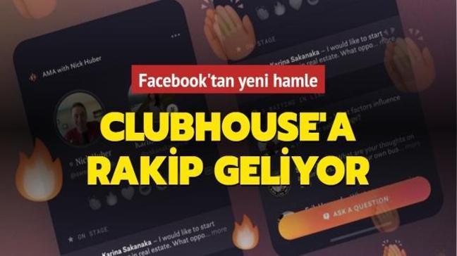 Facebook'tan yeni hamle... Clubhouse'a rakip geliyor