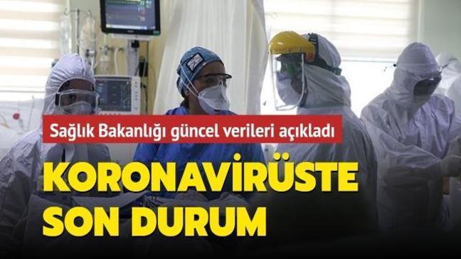 Sağlık Bakanlığı Kovid-19 salgınında son durumu açıkladı... İşte 8 Nisan koronavirüs tablosu