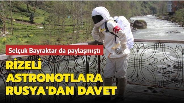 Selçuk Bayraktar da paylaşmıştı: Rizeli astronotlara Rusya'dan dikkat çeken davet