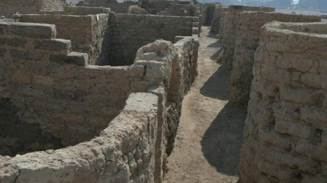 3 bin yıl öncesine ait... Mısır'da yeni bir antik kent bulundu