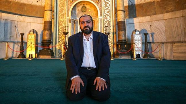Ayasofya Camii Baş İmamı Prof. Dr. Mehmet Boynukalın akademik görevine geri döndü