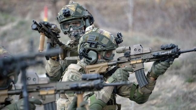 MSB duyurdu: Harekat bölgesinde 2 terörist etkisiz hale getirildi