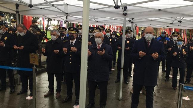 Türk Polis Teşkilatı 176. yılında Edirnekapı'da şehitleri anıldı