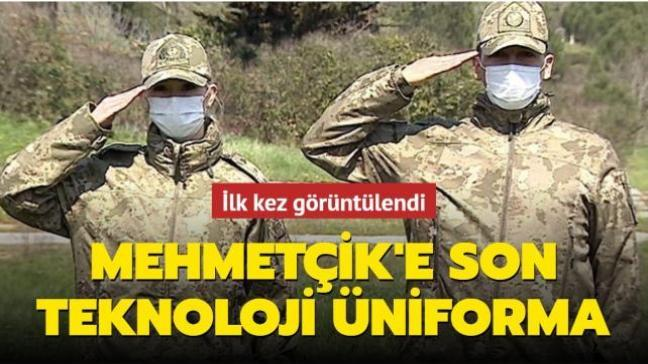 İlk kez görüntülendi: Mehmetçik'e son teknoloji üniforma