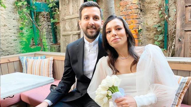 AKŞAM'ın mutlu günü: Nuriye Doğu ile Erman Taylan evlendi