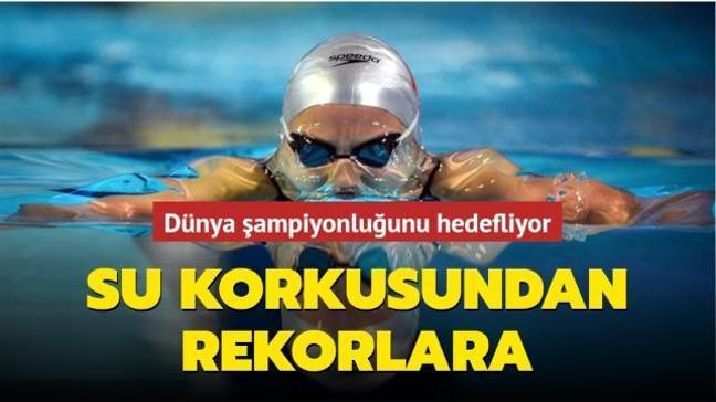 Su korkusundan rekorlara... Dünya şampiyonluğunu hedefliyor