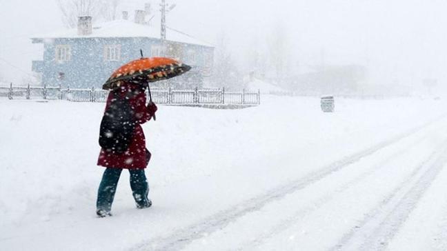 Kayseri'de yüz yüze eğitime kar engeli