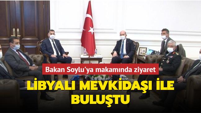 Bakan Soylu Libya İçişleri Bakanı ile görüştü