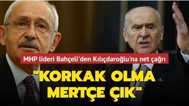Kılıçdaroğlu'nun Cumhurbaşkanlığı adaylığına ilişkin Bahçeli'den çarpıcı yorum