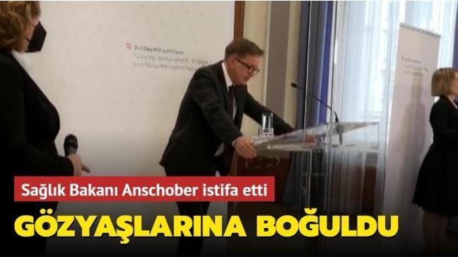 Sağlık Bakanı Anschober istifa ettiğini açıkladı: Gözyaşlarına boğuldu