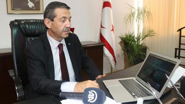 KKTC Dışişleri Bakanı: Eşit olmayan tutum devam ederse ortak zemin bulunamaz