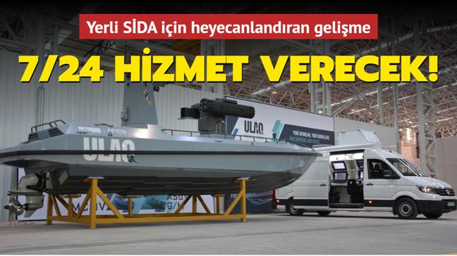 Yerli üretim SİDA'nın Sahil Kontrol İstasyonunun üretimi tamamlandı