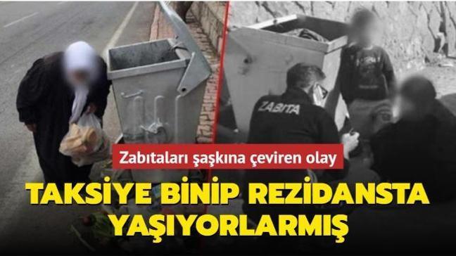 Kayseri'de zabıtaları şaşkına çeviren olay! Çöpten yiyecek topluyorlardı: Gerçek çok farklı çıktı