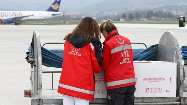 Türkiye'den hibe edilen aşılar Bosna Hersek'te
