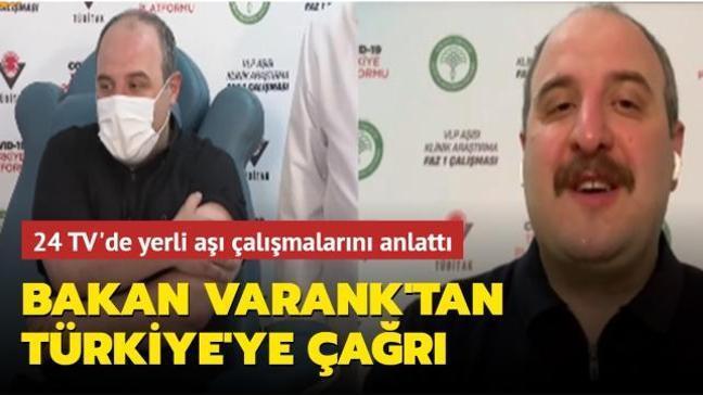 Bakan Varank: İnsanlığa ve bilime hizmet etmek istiyorsanız gelin gönüllü olun