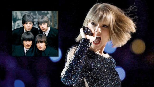 Taylor Swift, The Beatles'ın rekorunu kırdı
