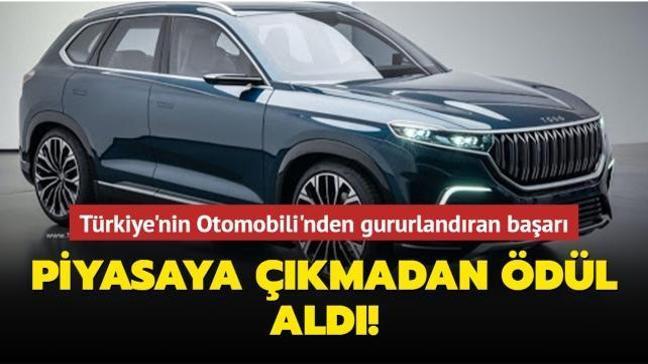Türkiye'nin Otomobili piyasaya çıkmadan İF Tasarım Ödülü'ne layık görüldü