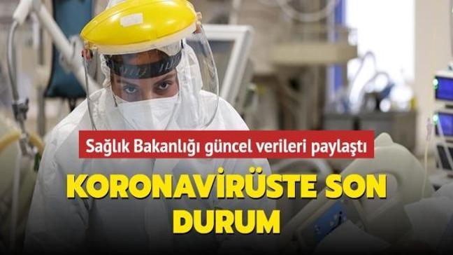 Sağlık Bakanlığı Kovid-19 salgınında son durumu açıkladı... İşte 20 Nisan koronavirüs tablosu