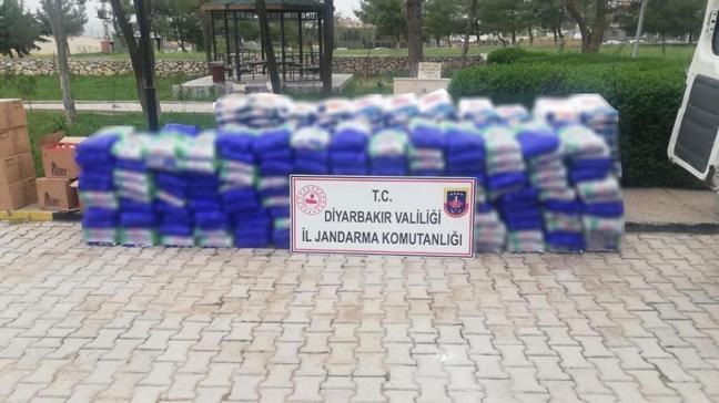 Diyarbakır'da yapılan aramada 3 ton sahte deterjan ele geçirildi