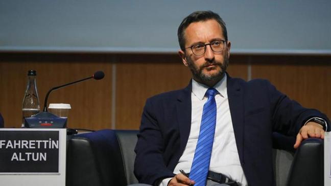 İletişim Başkanı Fahrettin Altun'dan Canan Kaftancıoğlu'nun  'Aylan Kurdi' paylaşımına tepki