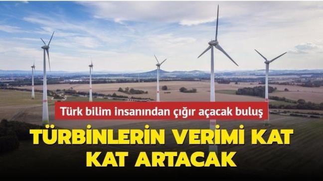 Türk bilim insanından rüzgar enerjisinde çığır açacak buluş