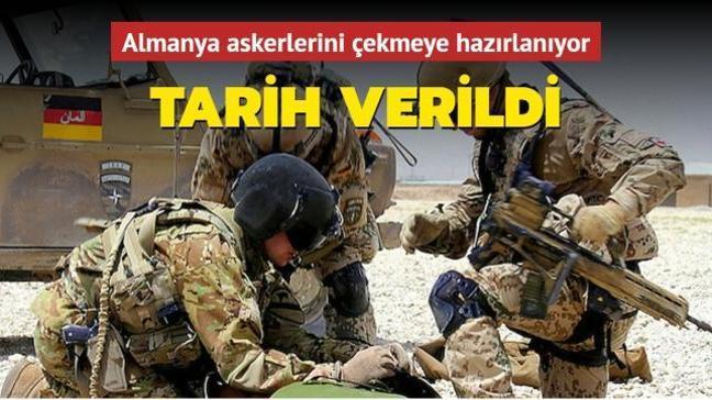 Almanya Afganistan'daki askerlerini 4 Temmuz'da çekmeyi planlıyor