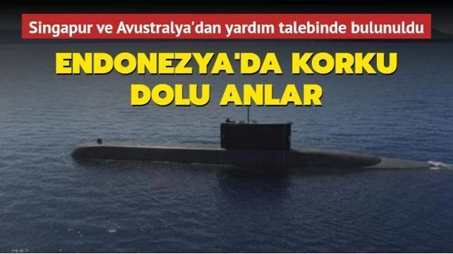 Endonezya donanmasına ait bir denizaltı, Bali açıklarında kayboldu