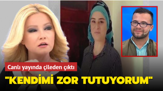 """Sahte gelin skandalında Müge Anlı çileden çıktı: """"Kendimi zor tutuyorum"""""""