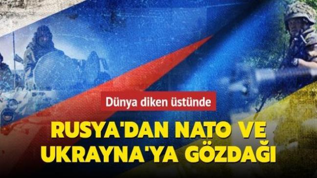 Rusya'dan Ukrayna ve NATO'ya çağrı: Gerginliği yükseltecek hareketlerden uzak durun
