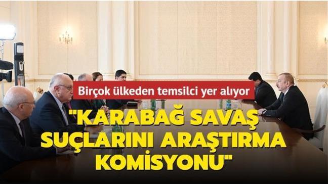 """STK temsilcisi, eski büyükelçi, gazeteci ve akademisyenler yer alıyor... """"Karabağ Savaş Suçlarını Araştırma Komisyonu"""" kuruldu"""