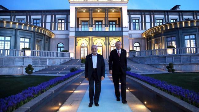 Başkan Erdoğan, Saadet Partisi Yüksek İstişare Kurulu Başkanı Asiltürk'ü kabul etti
