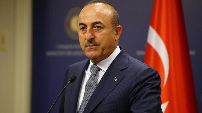 Dışişleri Bakanı Mevlüt Çavuşoğlu, Irak Türkmen Cephesi Başkanı Turan'la görüştü