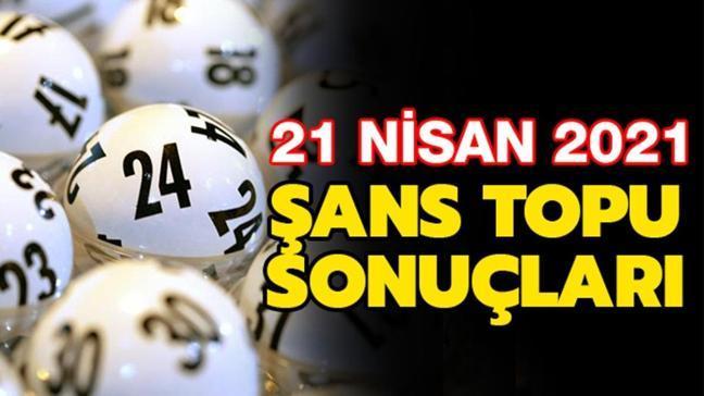 MPİ Şans Topu sonuçları bilet sorgulama sayfası: Şans Topu sonuçları 21 Nisan 2021 açıklandı!