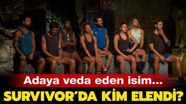 """Dün akşam Survivor'da kim elendi"""" Survivor'da adaya veda eden isim kim oldu"""" İşte SMS sıralaması..."""