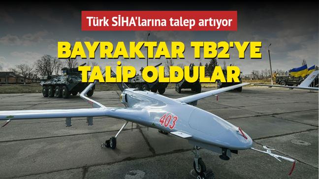 Türk SİHA'larına talep artıyor... Bayraktar TB2'ye talip oldular