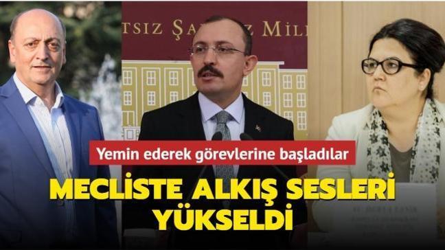 Yeni Bakanlar Derya Yanık, Mehmet Muş ve Vedat Bilgin yemin ederek görevlerine başladı