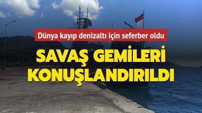 Savaş gemileri bölgeye konuşlandırıldı! 53 kişilik mürettebatıyla kaybolan denizaltı için dünya seferber oldu