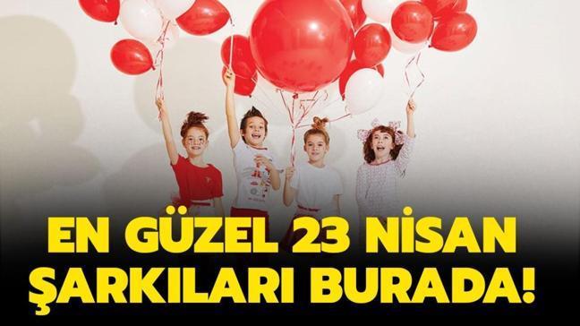 En güzel, kısa ve uzun 23 Nisan Ulusal Egemenlik ve Çocuk Bayramı şarkıları burada! 23 Nisan şarkısı sözleri!
