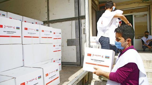 Savaş mağduru 5 bin aileye gıda yardımı