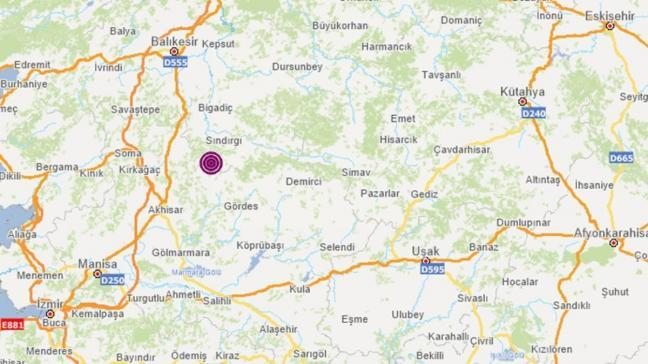 Son dakika deprem haberi: Balıkesir Sındırgı'da korkutan deprem!