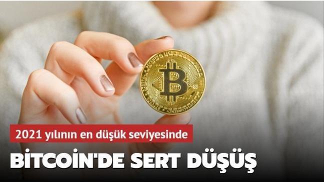 Bitcoin 2021 yılında ilk kez 50 bin doların altına düştü
