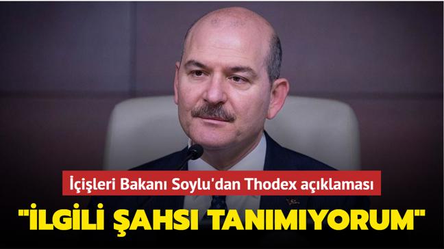 """İçişleri Bakanı Soylu'dan Thodex açıklaması: """"İlgili şahsı tanımıyorum"""""""