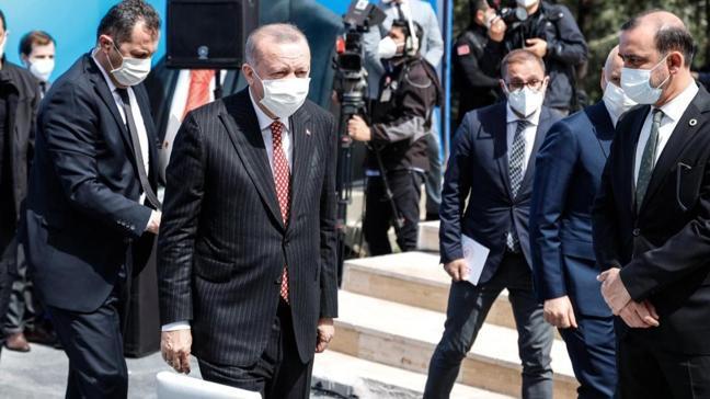Başkan Erdoğan'dan cuma namazı sonrası uyarı