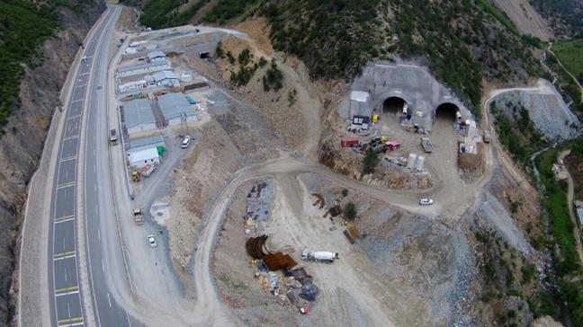 Karadeniz'de Kürtün Ayrım Kavşağı ve Tüneli yarın açılıyor