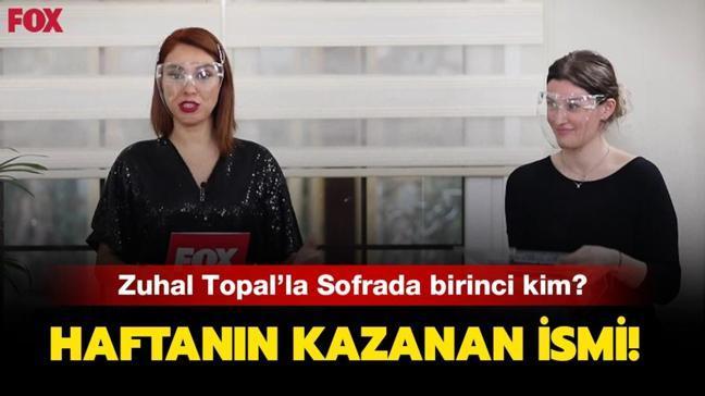 "23 Nisan Zuhal Topal'la Sofrada kim kazandı, birinci kim"" Zuhal Topal'la Sofrada 15 bin TL'yi kazanan isim..."