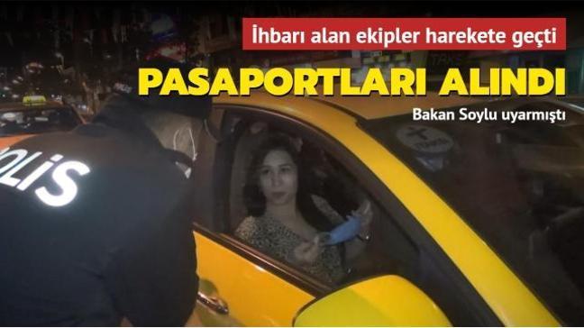 Bakan Soylu uyarmıştı: Hepsinin pasaportları alındı