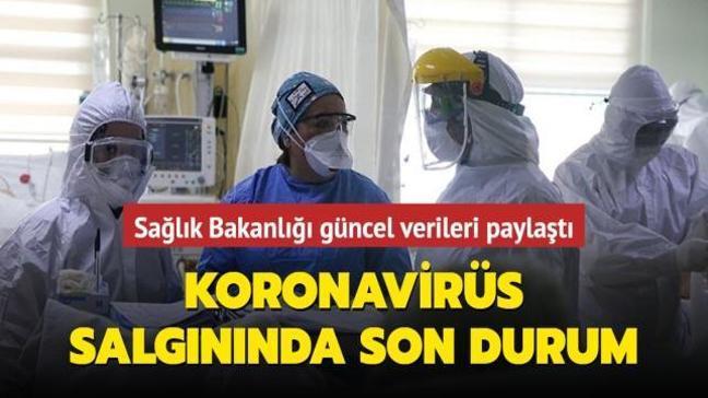 Sağlık Bakanlığı Kovid-19 salgınında son durumu açıkladı... İşte 24 Nisan koronavirüs tablosu