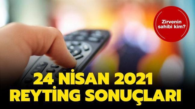 24 Nisan 2021 reyting sonuçları açıklandı! İşte Savaşçı, Gönül Dağı, Kuzey Yıldızı İlk Aşk reyting sıralaması!